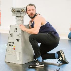 Eugenius in rehearsal, Aug 2018. © Nik Dudley