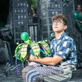Little Shop of Horrors at the Open Air Theatre, Aug 2018. © Johan Persson