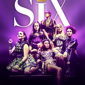 Six - The Musical, August 2018 West End poster