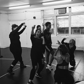 Six The Musical in rehearsals, 2017
