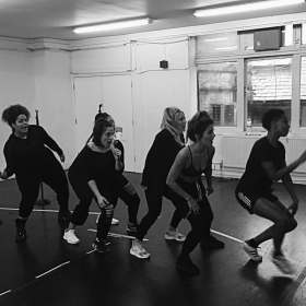 Six The Musical in rehearsals,2017