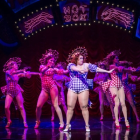 Rebel Wilson in Guys and Dolls. © Johan Persson