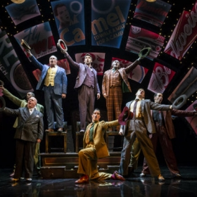 The cast of Guys and Dolls. © Johan Persson