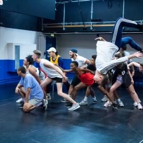 Bring It On in rehearsals, July 2018. © Eliza Wilmot