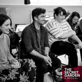 The Secret Garden in rehearsals