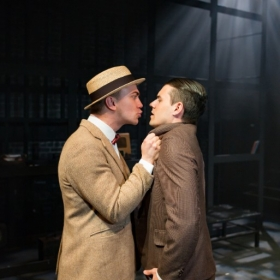 Ellis Dackcombe and Harry Downes in Thrill Me, Edinburgh Fringe 2017. © Nick Rutter