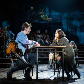 Hadestown at the National Theatre, London, Nov 2018. © Helen Maybanks