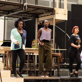 Hadestown rehearsals, Oct 2018. © Helen Maybanks