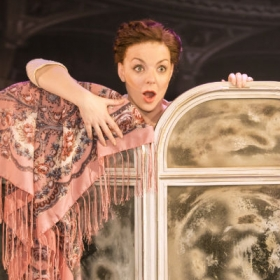 Sheridan Smith as Fanny Brice. © Johan Persson