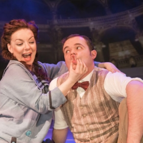 Sheridan Smith and Joel Montague in Funny Girl. © Johan Persson