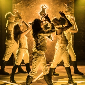 Spamilton at the Menier Chocolate Factory, July 2018. © Johan Persson