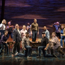 Come From Away at the Phoenix Theatre, February 2020. © Craig Sugden