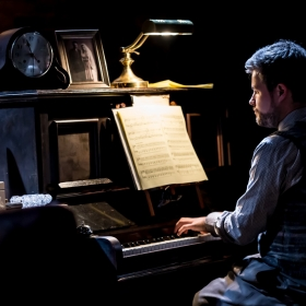 Midnight at the Union Theatre, London. © Lidia Crisafulli