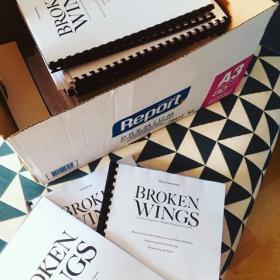 Broken Wings rehearsals, July 2018