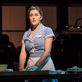 Waitress at the Adelphi Theatre, June 2019. © Johan Persson