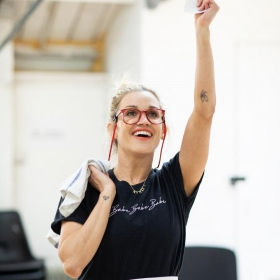 Waitress In Rehearsal at the Adelphi Theatre, June 2019. © Helen Maybanks