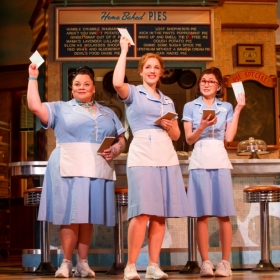 The Broadway production of Waitress, opened in 2016. © Joan Marcus