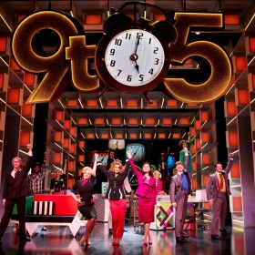 9 To 5 The Musical at the Savoy Theatre, March 2019. © Simon Turtle