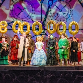 Wicked's 8000th theatregoer: 9 February 2017