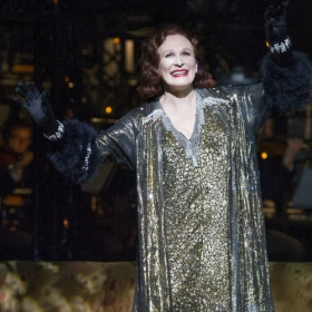 Glenn Close in Sunset Boulevard © Richard Hubert Smith