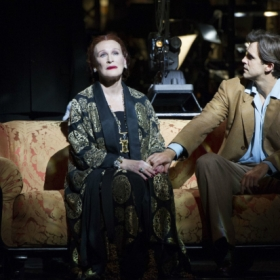Glenn Close and Michael Xavier in Sunset Boulevard © Richard Hubert Smith