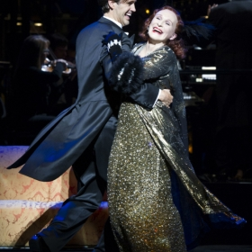 Michael Xavier and Glenn Close in Sunset Boulevard © Richard Hubert Smith