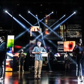 Dear Evan Hansen at the Noel Coward Theatre, November 2019. © Matthew Murphy