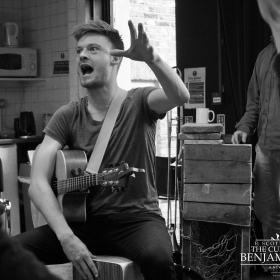 The Curious Case of Benjamin Button in rehearsal, May 2019