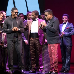 The Jacksons visit Motown. © Craig Sugden