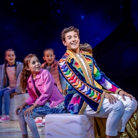 Joseph & The Amazing Technicolor Dreamcoat at the London Palladium, July 2019. © Tristram Kenton