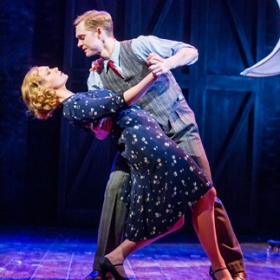 Emma Williams and Matthew Malthouse in Mrs Henderson Presents
