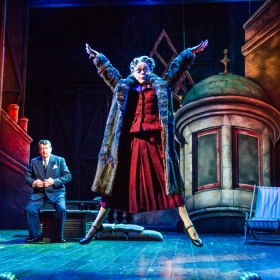 Tracie Bennett and Ian Bartholomew in Mrs Henderson Presents
