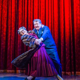 Tracie Bennett and Ian Bartholomew in Mrs Henderson Presents