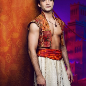 Matthew Croke as Aladdin. © Disney