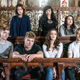 The cast of Bare: A Pop Opera, Jun 2019. © Tom Grace