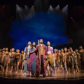 The Prince Of Egypt at the Dominion Theatre, February 2020. © Matt Crockett