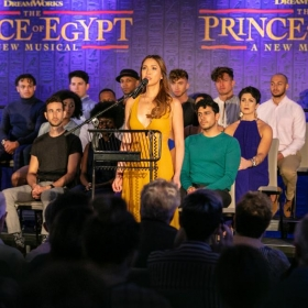 The Prince Of Egypt at the Dominion Theatre London launch, September 2019. © Darren Bell