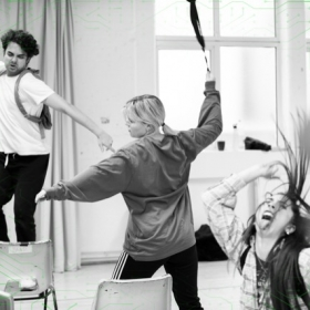 Be More Chill at The Other Palace in rehearsal, February 2020. © Matt Crockett