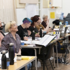 City Of Angels at the Garrick Theatre, in rehearsal, March 2020. © Johan Persson