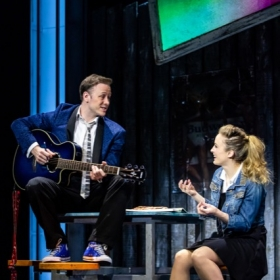 The Wedding Singer at the Troubadour Wembley Park Theatre, February 2020. © The Other Richard