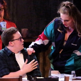 The Jury premiered at Runcorn's Brindley Theatre in 2018 before its 2019 London premiere at Upstairs at the Gatehouse