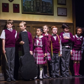 The Kids from School of Rock. © Tristram Kenton