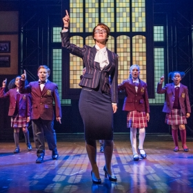 Florence Andrews in School Of Rock. ©Tristram Kenton