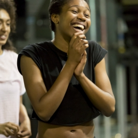Gloria Obianyo in Jesus Christ Superstar rehearsals