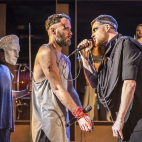 Declan Bennett and David Thaxton in Jesus Christ Superstar