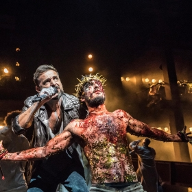 Jesus Christ Superstar at the Barbican Theatre, July 2019. © Photo Johan Persson