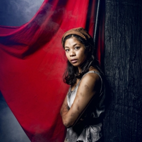 Eva Noblezada as Eponine in Les Miserables, April 2016. © Matt Crockett