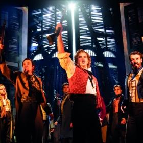 Les Misérables at the Sondheim Theatre, January 2020. © Johan Persson