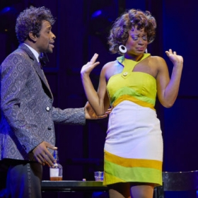 Adam Bernard & Ibinabo Jack in Dreamgirls. © Mogenburg