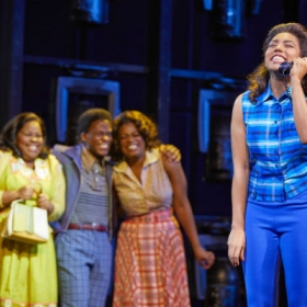 Amber Riley, Tyrone Huntley, Ibinabo Jack & Liisi La Fontaine in Dreamgirls. © Mogenburg